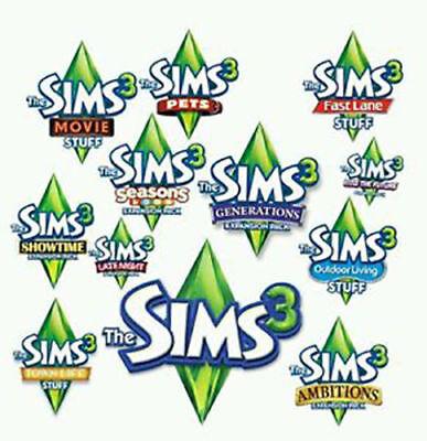 The Sims 3   5 Random Expansion Packs  Pc Mac Online Download  Origin