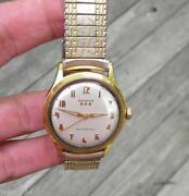 Benrus Men Gold Watch