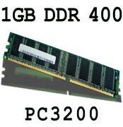 1GB DDR RAM Speicher PC3200 400 MHz