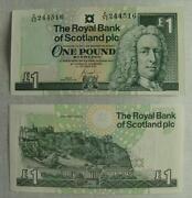 One Pound Note Scotland