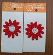 Sew on Applique Flowers