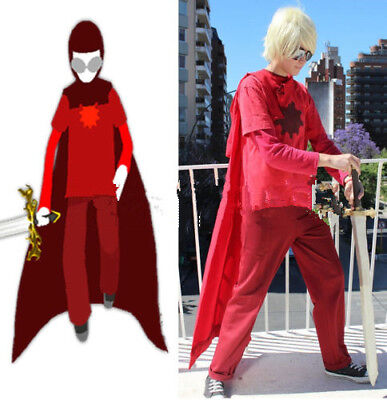 Dave Strider God Tier Cosplay Costume From HOMESTUCK Custom Made](Homestuck Halloween Cosplay)