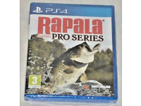 SONY PLAYSTATION PS4 GAME RAPALA FISHING PRO SERIES PAL MAXIMUM GAME WORLD CLASS