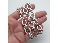 Genuine Links of London solid Silver ladies bracelet -£150