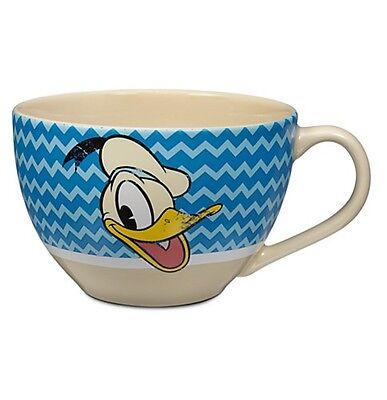 Disney Store Donald Duck Cappuccino Vintage Ceramic Adult Coffee Mug 20oz - Donald Duck Coffee Cup