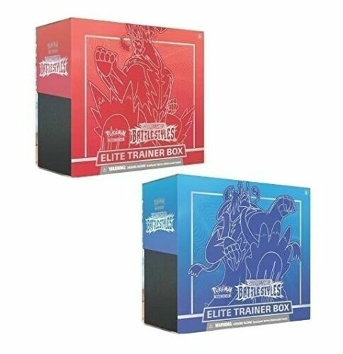 Pokemon Battle Styles Elite Trainer Box - Brand New and Sealed! Ships ASAP!