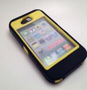 iPhone 4S Otterbox Defender Black Yellow