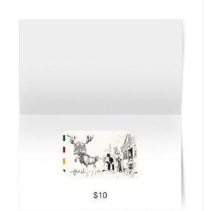 Thebay Giftcard non utilise 10$