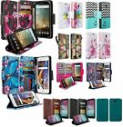 Cell Phone Wallet Cases for ZTE Avid Plus