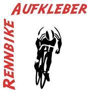 Rennrad Aufkleber