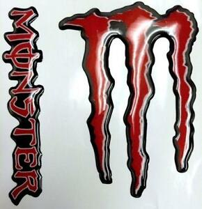 monster energy decals ebay. Black Bedroom Furniture Sets. Home Design Ideas