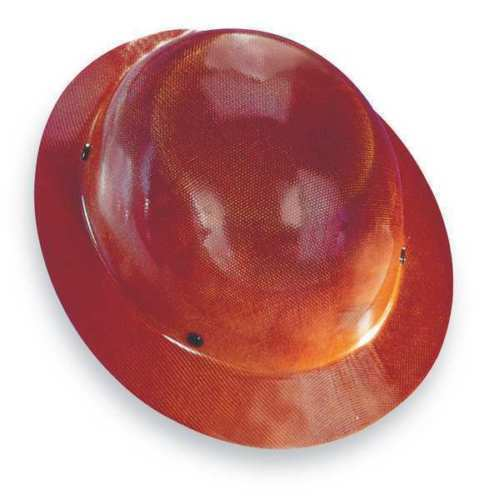 MSA SAFETY WORKS 475407 SKULLGARD HARD HAT TAN FAST-TRAC SUSPENSION FULL BRIM *