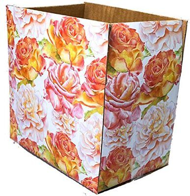 6x4x4 Blossom Designer Boxes Corrugated Cardboard Box Shipping Cartons Mailers