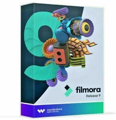 Wondershare Filmora 9 | 4K Video Editor | Lifetime License | For Windows