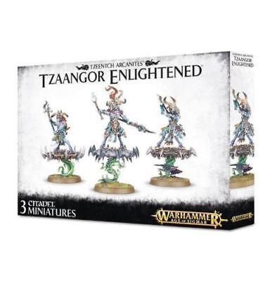 Warhammer Aos- Tzeentch Arcanites Tzaangor Enlightened - Brand New! - 83-74