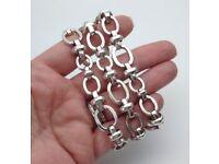 Genuine Links of London solid Silver ladies bracelet
