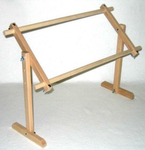 Lap quilting frame ebay for Floor quilt frame