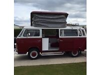 1972 VW T2 Bay (Crossover) 4 Berth Campervan for sale; priced to sell - £14,500