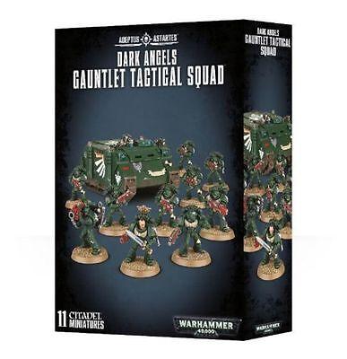 Warhammer 40k: Dark Angels Space Marines Gauntlet Tactical Squad GWS 44-15 NIB