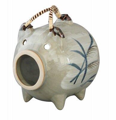 SANTO 04683 Mosquito Coil Holder Pig KATORIBUTA ASHIE summer 1kg repellent Japan