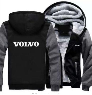 Winter coat Volvo baseball clothing cashmere thickening hoodie sweater jacket