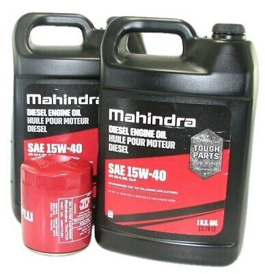 Oil Change Kit For Mahindra Tractor - O5 25 Series Oil Change Kit