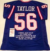 NY Giants Signed Jersey