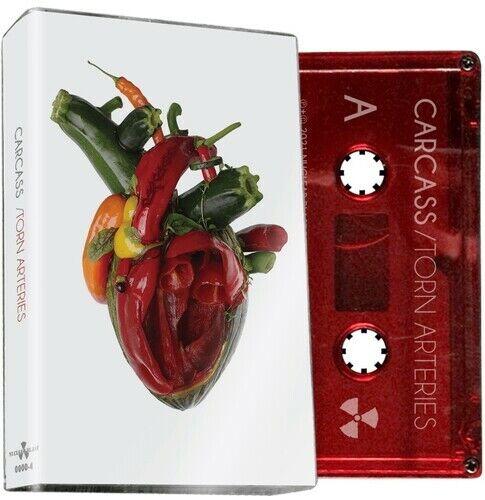 Carcass - Torn Arteries (Red Cassette) [New Cassette] Colored Cassette , Ltd Ed,