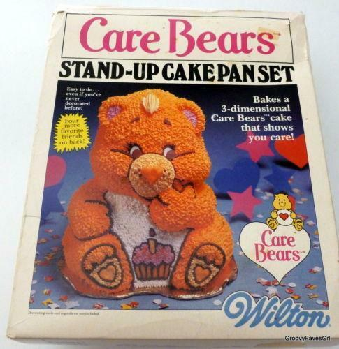 wilton 3d bear cake pan instructions
