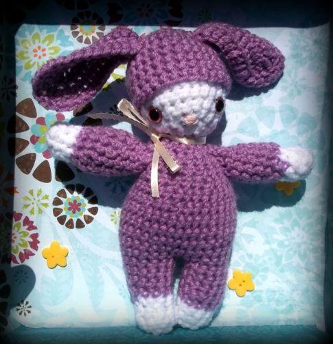 Handmade Crochet Doll Ebay
