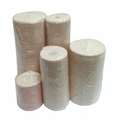 Premium Double Length Elastic Bandages - Strong Perfect For Repeated Use