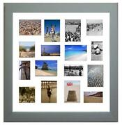 Silver Multi Photo Frame