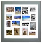 Silver Multi Photo Frame