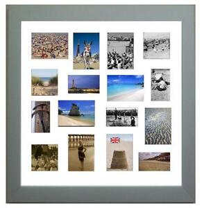 silver multi photo frame - Multiple Photos In One Frame