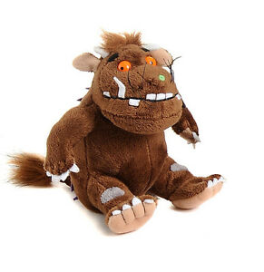 gruffalo, gruffalos child, mouse, squirrel, fox, snake or owl aurora soft toys