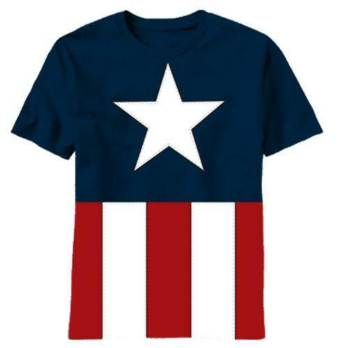 superhero costume t shirt ebay. Black Bedroom Furniture Sets. Home Design Ideas