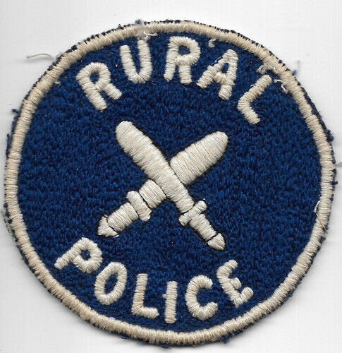 Obsolete Philippine Rural Police Patch
