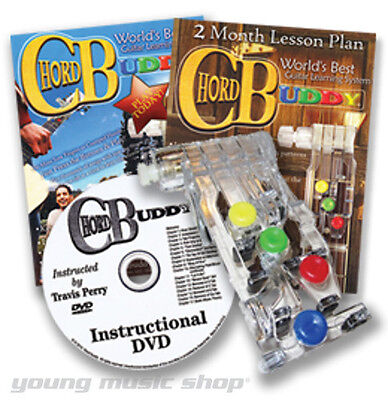 ChordBuddy World's Best Guitar Learning System Chord Buddy w/ Instructional DVD on Rummage