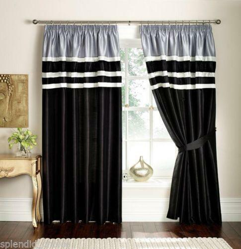 Pencil Pleat Curtains | Curtains & Blinds | eBay