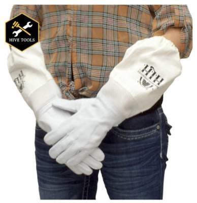 Harvest Lane Honey Clothgl-103 Goat Skin Beekeeping Gloves Wventilation Large