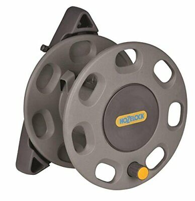 Hozelock 30 Metres Compact Wall Mounted Hose Pipe Reel With Hose Guide