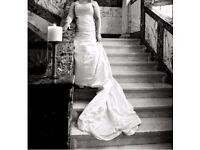Maggie Sottero Alabaster Savannah Wedding Dress (approx: 12-14)
