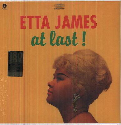 Etta James   At Last  New Vinyl  Bonus Tracks  180 Gram