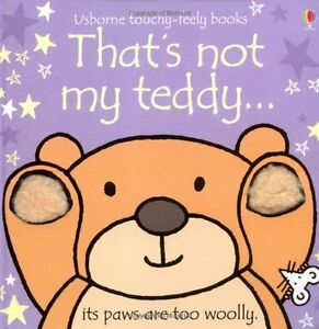That's Not My Teddy (Usborne Touchy Feely Books),New Condition