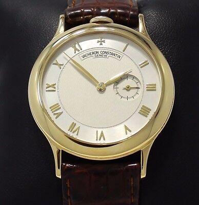 VACHERON CONSTANTIN Patrimony 92012 18K Yellow Gold 33mm Manual Rare Watch *MINT