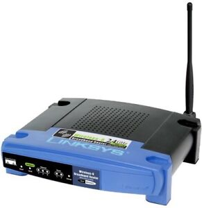 Linksys WRT54GP2  Voip Adapter Router + Unlocked