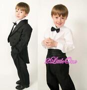 Kids Black Tuxedos