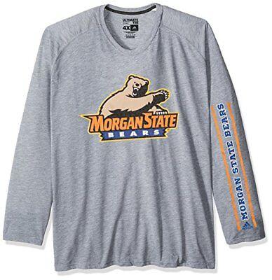adidas NCAA Morgan State Bears Adult Men Sleeve Play Ultimate L/S Tee, LARGE,... Adidas Morgan State Bears