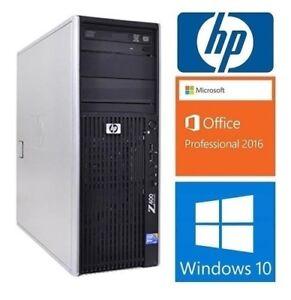 HP Workstation Z400: 8 cores 3.06GHZ,16GB RAM,1TB,Video1GB: 225$