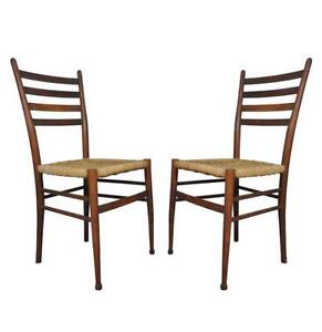 Etonnant Vintage Ladder Back Chairs